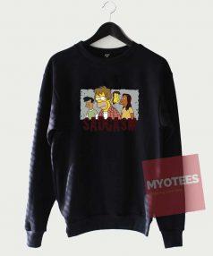 Bart Family Sadgasm Funny Sweatshirt