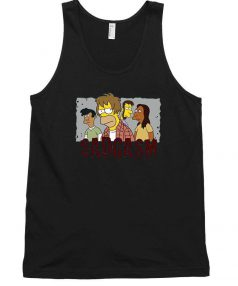 Bart Family Sadgasm Funny Tank Top