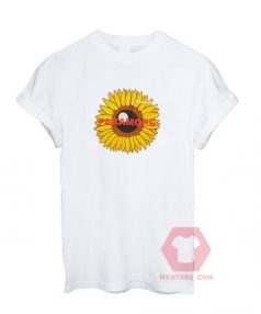 Paramore Sunflower T Shirt For Sale