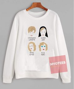 My The Faces Of Jessica Lange Sweatshirt