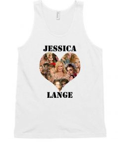 Cheap Custom Jessica Lange Love Tank Top