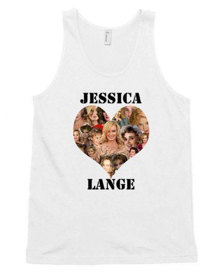 Cheap Custom Jessica Lange Love Tank Top