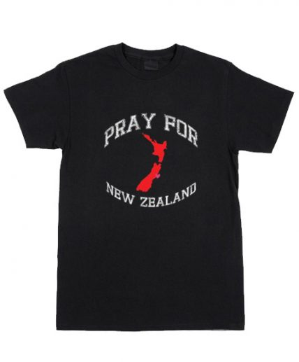 Cheap Custom Tees Pray For New Zealand For Sale