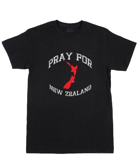 Cheap Custom Tees Pray For New Zealand For Sale