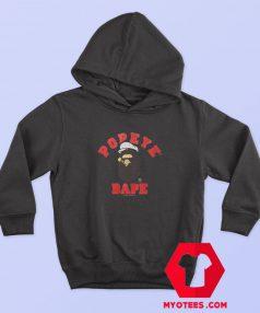 BAPE x Popeye Ape Head Hoodie Cheap