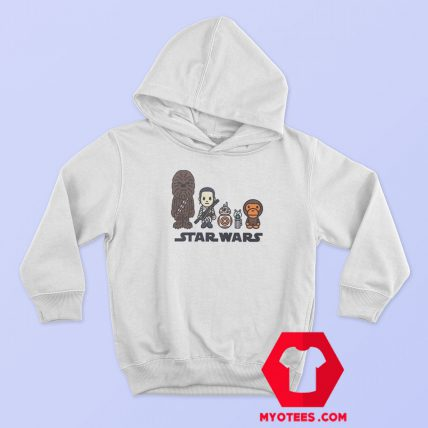Cheap BAPE x Star Wars Republic Hoodie