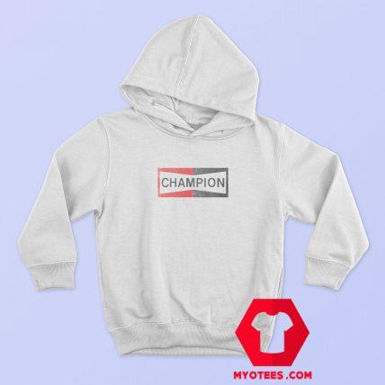 Champion Logo Vintage Hoodie Cheap