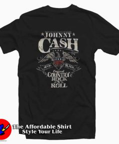 Johnny Cash Country Rock N Roll Unisex T-Shirt