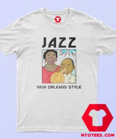 Mardi Gras Jazz New Orleans Style T-Shirt For Sale