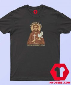 St Francis of Assisi Prayer T-Shirt Cheap