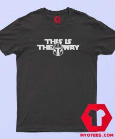 This Is The Way Mandalorian Unisex T-Shirt Cheap