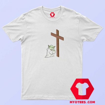 Yoda Love Jesus Unisex T-Shirt Cheap