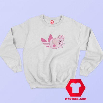 Adidas x Peppa Pig Parody Funny Sweatshirt