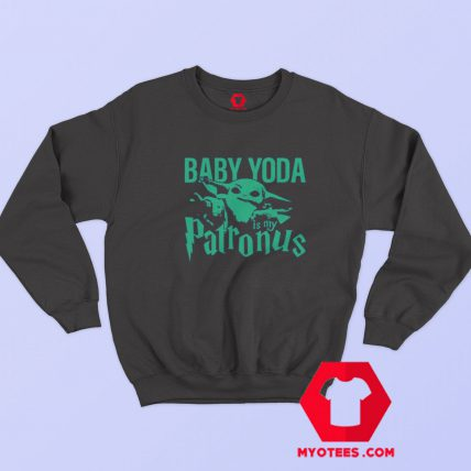Baby Yoda Is My Patronus Star Wars Sweatshirt