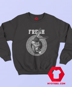 Black Bugz Bunny Urban Funny Sweatshirt