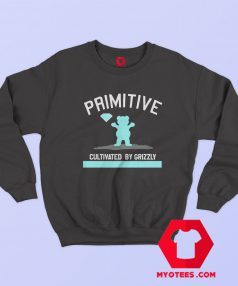 Cheap Primitive Grizzly x Diamond Supply Co Sweatshirt