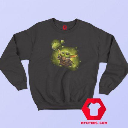 Coronavirus Worldwide Tour Baby Yoda Sweatshirt