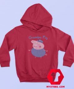 Funny Grandpa Peppa Pig Graphic Hoodie