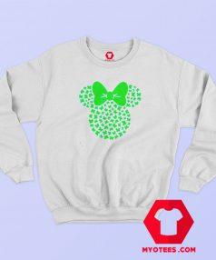 St Patricks Minnie Mouse Icon Shamrocks Sweatshirt