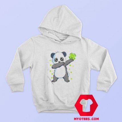 Nice Dabbing Panda St Patricks Day Hoodie
