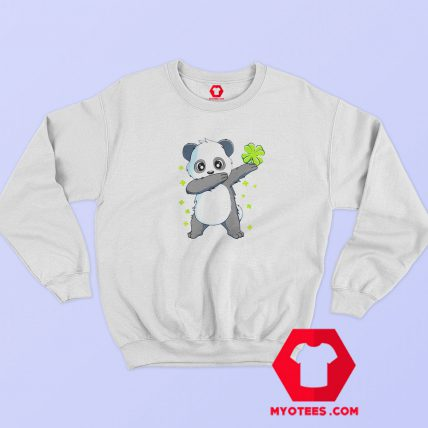 Nice Dabbing Panda St Patricks Day Sweatshirt