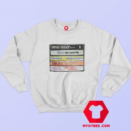 Nirvana Album Cassette Graphic Sweatshirt