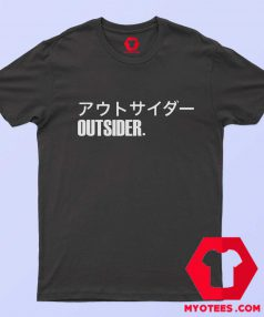 Outsider Japanese Graphic T-Shirt