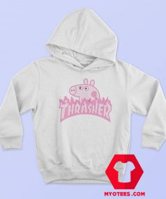 Peppa Pig X Thrasher Hoodie Parody