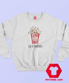 Pop Corn Le Cinema Graphic Sweatshirt