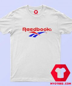 Reebok Readbooks Parody Graphic Funny T Shirt