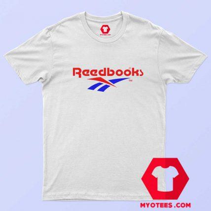 Reebok Readbooks Parody Graphic Funny T Shirt