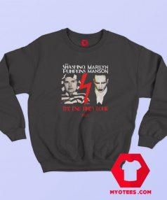 Smashing Pumpkins Marilyn Manson Tour Sweatshirt