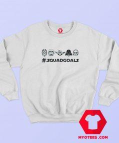 Star Wars Squad Goals Graphic Sweatshirt Cheap