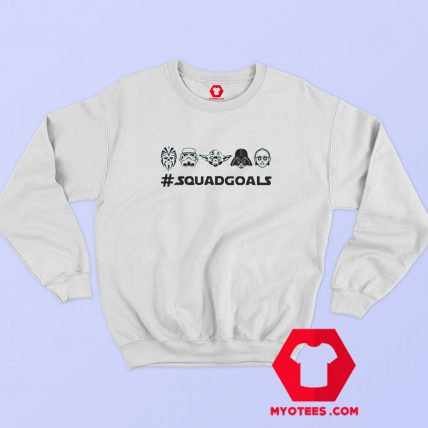 Star Wars Squad Goals Graphic Sweatshirt Cheap