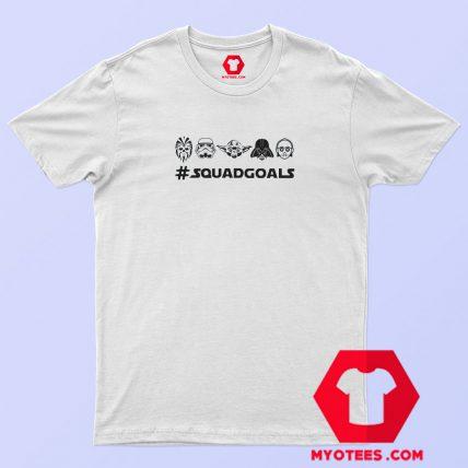 Star Wars Squad Goals Graphic T Shirt Cheap