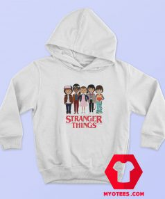 Stranger Things Angry Face Hoodie