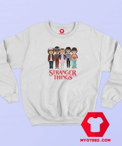 Stranger Things Angry Face Sweatshirt Cheap