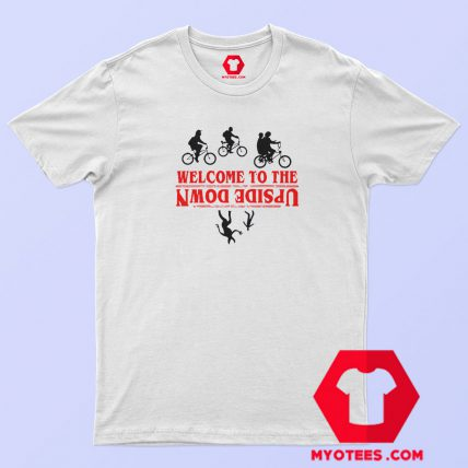 Stranger Things Welcome Upside Down T Shirt