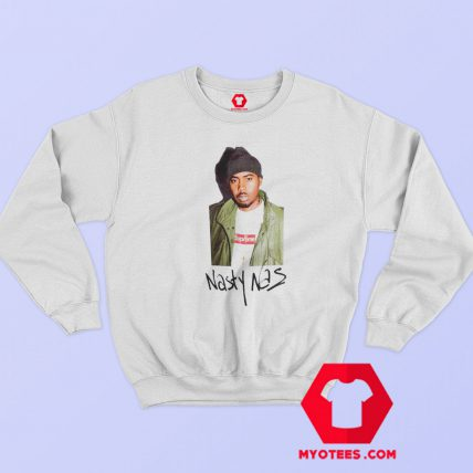 Supreme Project Blitz Nasty Nas Sweatshirt