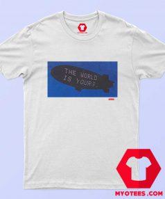 Supreme The World Graphic Cheap T Shirt