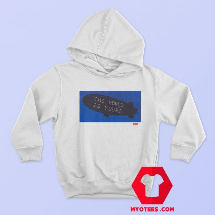 Supreme The World Graphic Hoodie Cheap