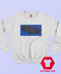 Supreme The World Graphic Sweatshirt Cheap