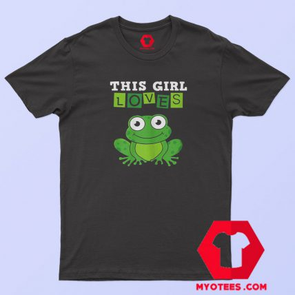This Girl Loves Frogs Costume Funny T Shirt