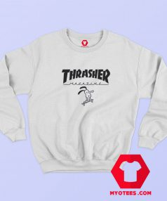 Thrasher Magazine x Snoopy Unisex Sweatshirt