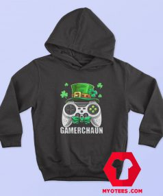 Video Game Leprechaun St Patrick's Day Hoodie