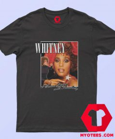 Whitney Houston Wanna Dance T Shirt Cheap