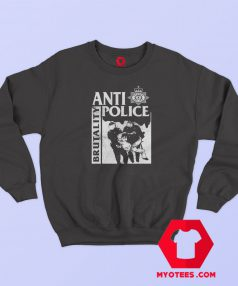 Anti Police Brutality Graphic Sweatshirt