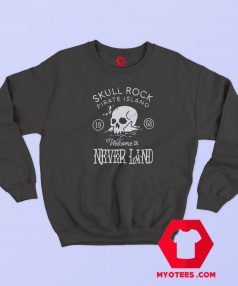 Awesome Skull Rock Peter Pan Sweatshirt