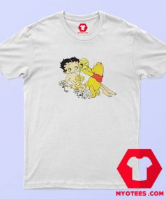 Betty Boop And Winnie Pooh Love T Shirt
