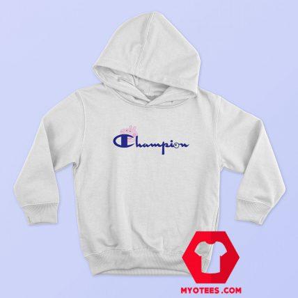 Champion Vintage Logo Collab Peppa Pig Hoodie